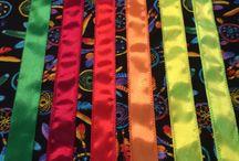 Sewing ribbon skirts etc