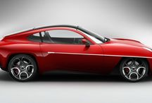 Alfa Romeo - Disco Volante / La Touring Superleggera Disco Volante 2012 è una concept car sportiva artigianale realizzata dal carrozziere italiano Touring nel 2012. Ha anticipato la Disco Volante di serie messa in produzione l'anno successivo.