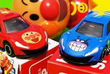 トミカ限定ミニカーアンパンマンとバイキンマン❤アニメ&おもちゃ