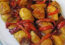 pommes  de terre espagnol