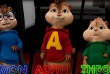 Alvin and the Chipmunks / Alvin, Simon, Theodore, Brittany, Jeanette and Eleanor!