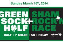 Green Sock Half & Shamrock'n Race / Half, 7 Miler & 5 km