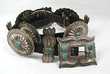 Concho Concha Belts