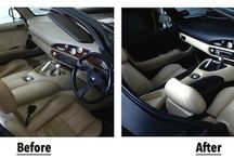 Car Interior Restorations / Outstanding results achieved by our technicians and our customers when restoring or changing the colour of leather car interiors