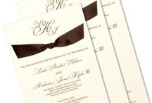 Invitations and all things typed