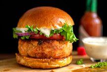 Seafood & Vegetarian Entrees