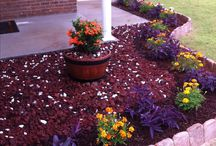 Small flower beds