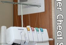 Serger/Overlocker / Anything I come across on how best to use my serger.