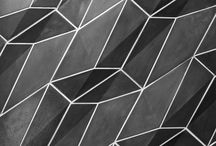 """The Cairo Tiles / CAIRO WALL TILE SYSTEM  Loosely based on the paving stones used in Egypt's capital city, our """"Cairo"""" tiles are an exploration of pentagons and hexagons and the geometric intersection of these two tessellating shapes."""