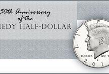 50th Anniversary of the Kennedy Half-Dollar / 50th Anniversary of the Kennedy Half-Dollar