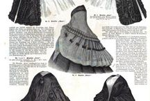 1860's Outerwear / by Micaila Curtin