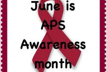 June 2013 Awareness Month / #June is #Antiphospholipid Antibody #Syndrome ( #APS) #Awareness Month. These are some of the #Instagrams that we and others created.