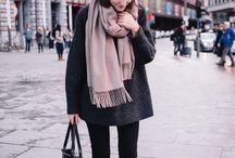 L'hiver l'hiver / clother, cold, chic
