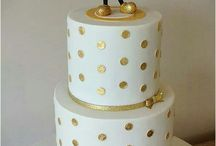 Cakes - gold