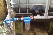 Rainwater accumulation