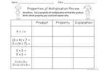 Math- Multiplication / by Cynthia Stanfield