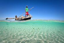 Anakao / Sur la côte Sud-Ouest de Madagascar se trouve un petit village de pêcheurs appelé Anakao