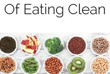 healthy and clean food