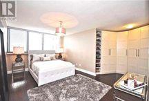 Condo Living - Master Bedroom