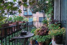 Kicsi terasz/balconies