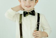 Little Boy Bow Ties & Suspenders / Cute ideas for baby clothing accessories. A collection of baby bow ties and suspenders.