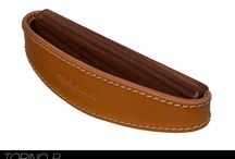 Leather handles / We design and produce handmade furniture handles made in Germany in high end quality.