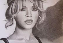 Beyoncé drawings