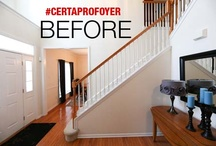 CertaPro Foyer Makeover / Right now, CertaPro's Color Expert, Shannon Kaye is making over a 2 story foyer and dining room in Macgunie, PA! Follow our Pinterest board, Twitter (@CertaPro) or Facebook Page (CertaProPaintersUSA) for the latest updates to see this transformation in real time! / by CertaPro Painters®