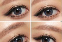 Eyes (+Lenses) / #colored #contact lenses #eye