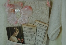 Wall hanging / Board about lovely wall hanging or shabby chic decor