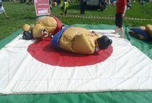 Keighley Gala 2014 / sumo activity