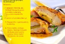 WINIARY-Pomysł na ... / Pierś kurczaka z mozzarellą