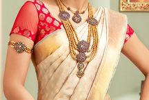 Beauties in Sarees