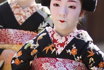 Geisha, Kimono, things & places Japanese / by Susan Cornecelli Smith