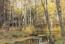 Peder Mørk Mønsted (1859-1941) / Art from Denmark.