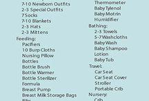 New baby checklist
