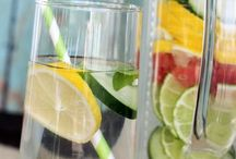 Detox infused waters