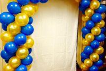 baloon arch entrance