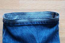 zkracování kalhot