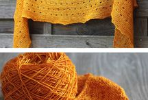 Knitting Shawls, Wraps, and Scarves / Hand knit scarves, cowls, shawls, and wraps.