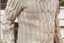 Suéter de Hombre a Dos Agujas