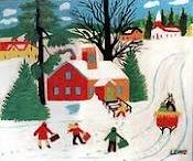 ART - Maud Lewis , canadian artist / maud lewis