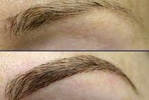 Eyebrow Extensions / Eyebrow Extensions Be one of the first to try individual semi-permanent eyebrow extensions.  Attached onto the skin or existing eyebrow hairs to add dimension and fullness.