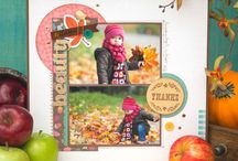 Autumn Crisp Collection / Grab a sweater and experience the delights of Autumn with the Autumn Crisp Collection, released Winter 2014 by American Crafts, Inc. Fall and Autumn craft inspiration.