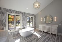 Hinsdale Home / This gorgeous California Transitional is full of high end finishes.