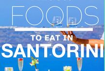 Santorini ❤️ Food / Foods to eat in Santorini