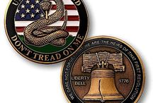 OPSGEAR® Challenge Coins / Visit www.opsgear.com for full selection of coins honoring our country, military, and first responders.