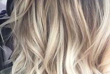 Darker roots blonde