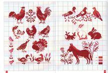 ptaki wzory
