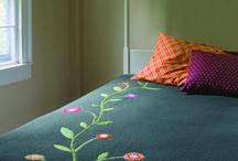 Aplik yatak örtüsü